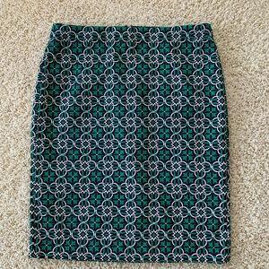J.Crew Midi PENCIL skirt- size 12